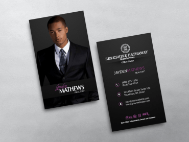 Order berkshire hathaway business cards free shipping design berkshire hathaway business card bhr219 colourmoves