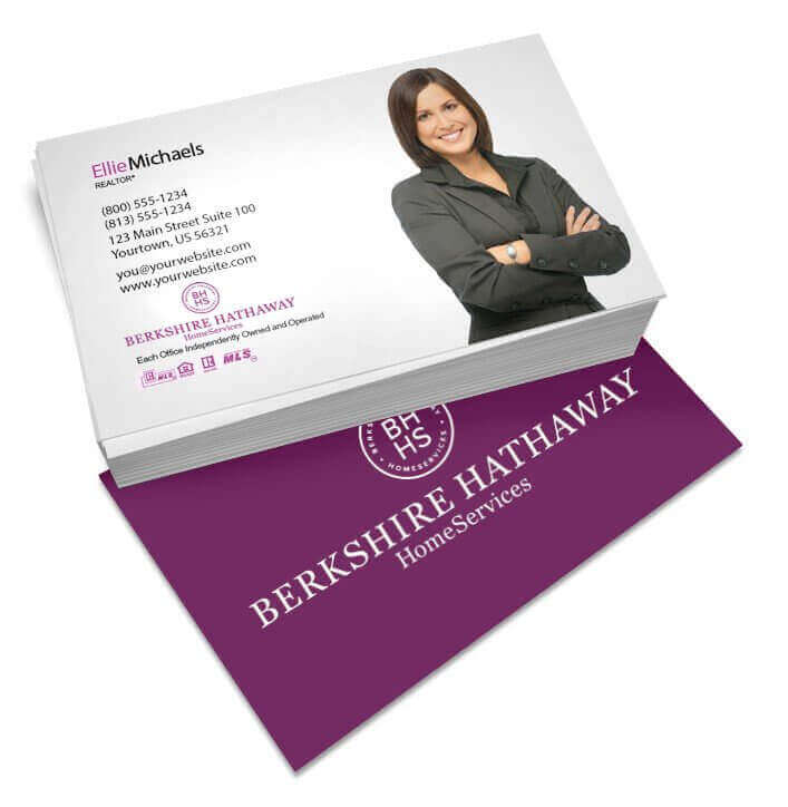 Premium Realty Business Cards | Free Shipping | Berkshire Hathaway ...