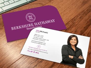 Die cut berkshire hathaway business cards berkshire hathaway wink colourmoves